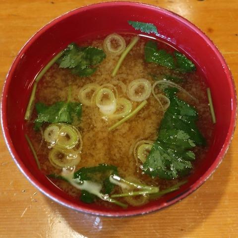 味噌汁(寿し正)