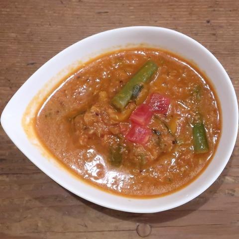 南印度風野菜マサラカリー(レインボウスパイス)