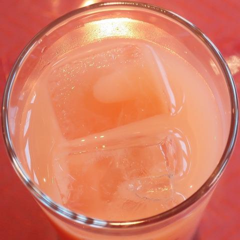グレープフルーツジュース(ビアンコ)