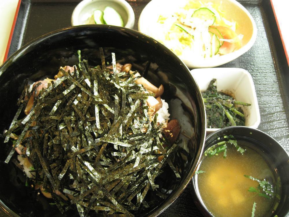近江牛ステーキ丼ランチ