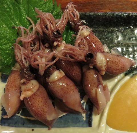 蛍烏賊酢味噌(いしだ)
