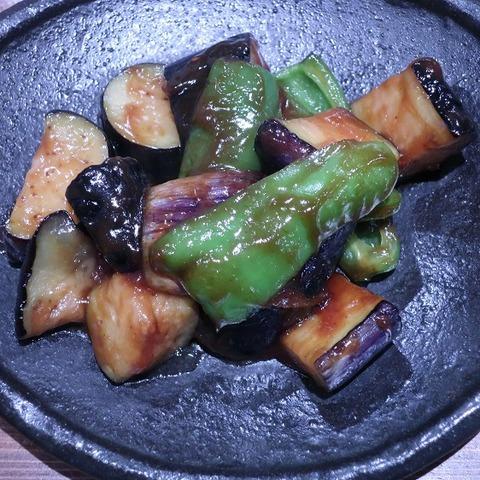 揚げ茄子味噌炒め(異骨相)550