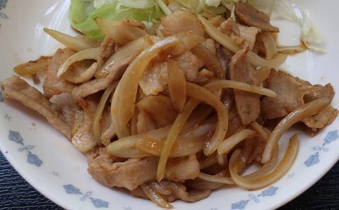 生姜焼(東大和食堂)