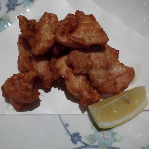 若鶏唐揚げ(藪伊豆)800