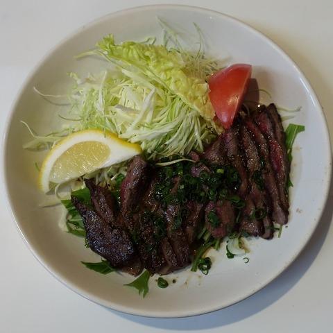 牛焼肉定食(稲穂)900