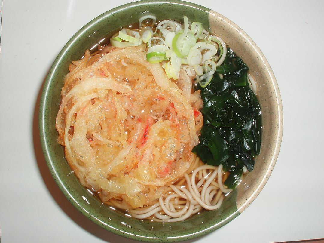 生姜天蕎麦