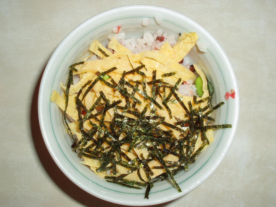 季節の御飯(枝豆)