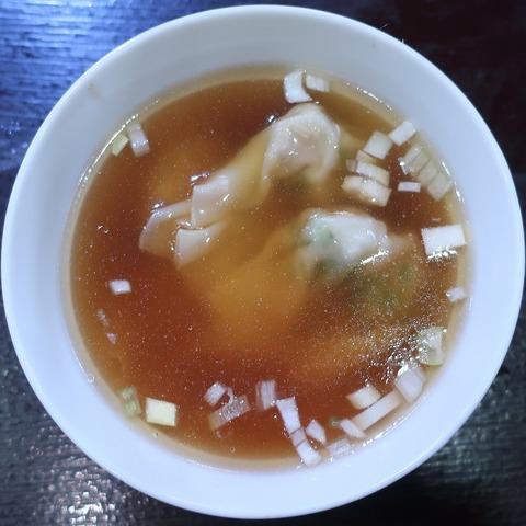雲吞スープ(龍鳳)