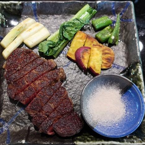 黒毛和牛ステーキ(石心亭)