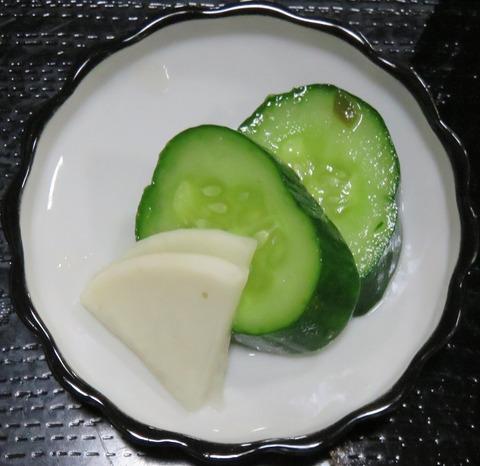 漬物(東里庵)