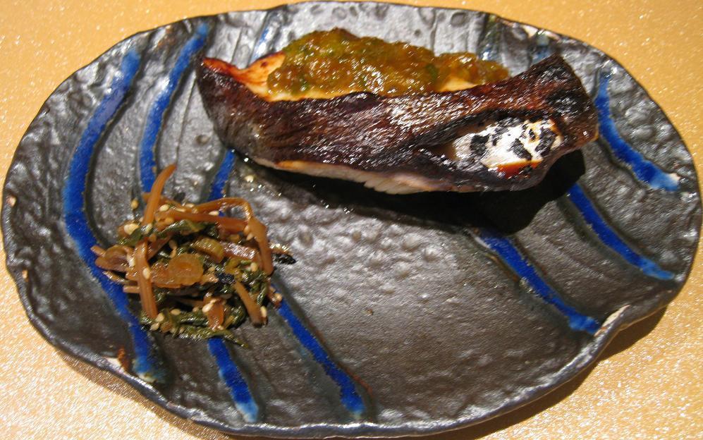 銀鱈味噌焼