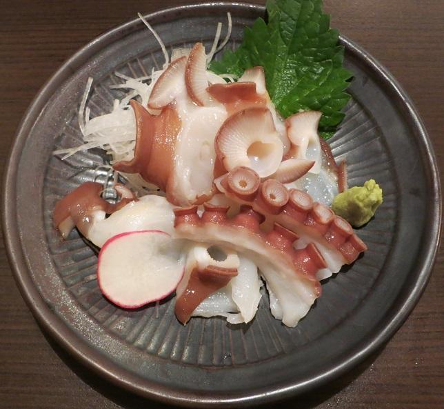 北海道活〆蛸刺