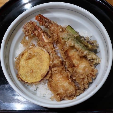 海老天丼(海老民)1430