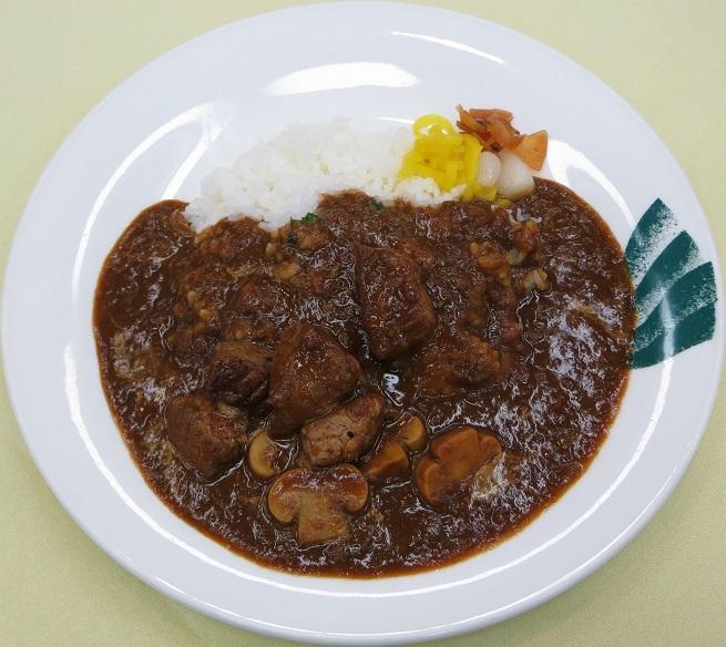牛フィレ肉のカレー