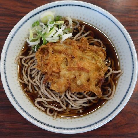 天ぷらそば(雪国)350