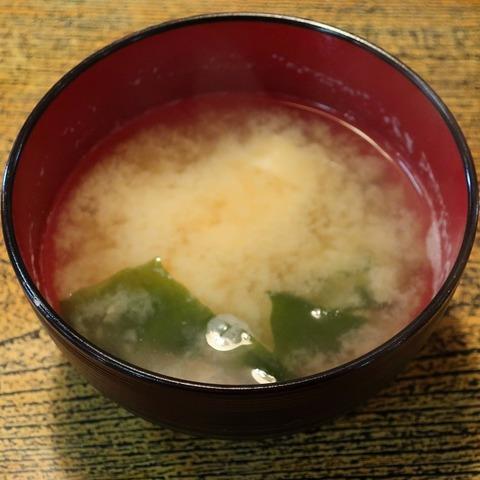 味噌汁(鷹の屋)