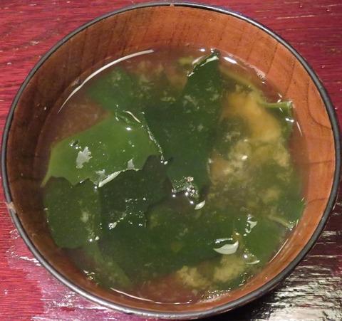 味噌汁(みのち庵)