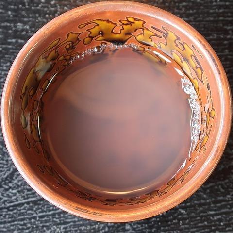 蕎麦湯(三朝庵)