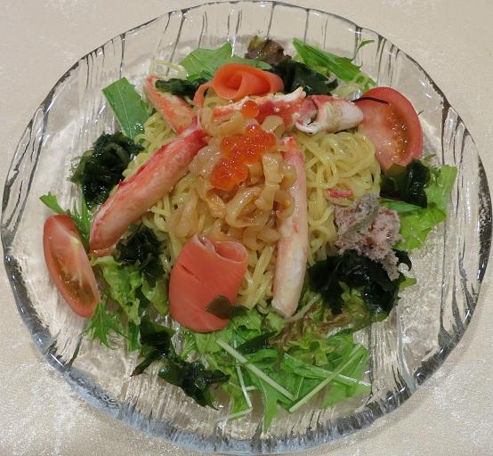 カニ海鮮冷麺2,600円