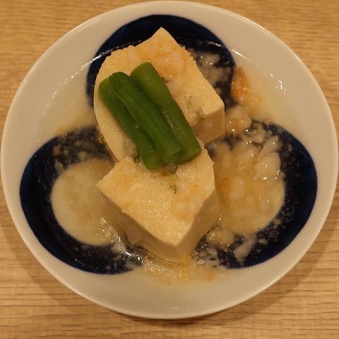 はさみ高野豆腐(梅の花)400