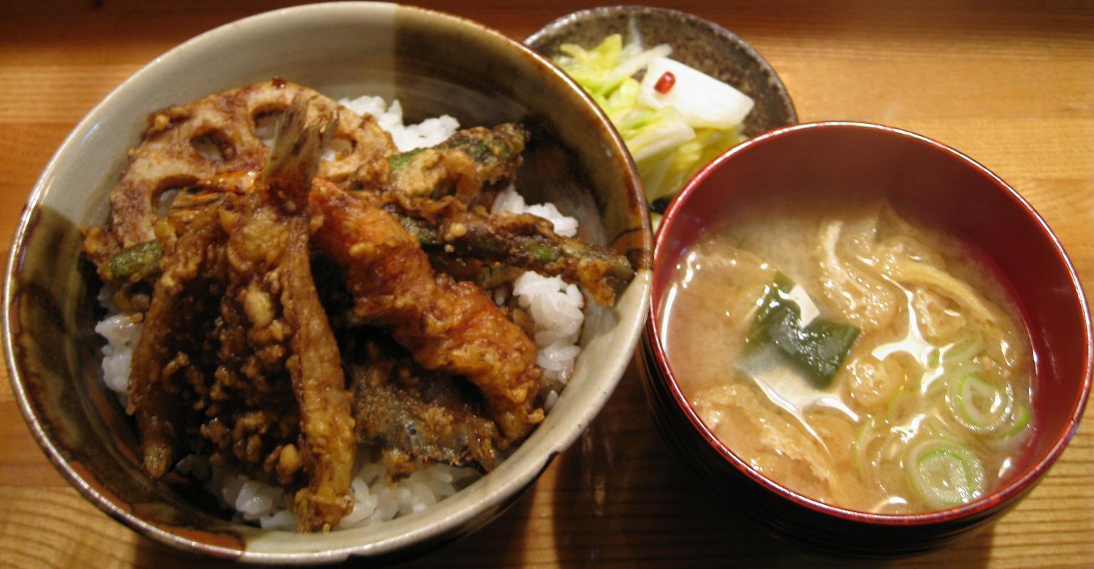 天丼A+味噌汁
