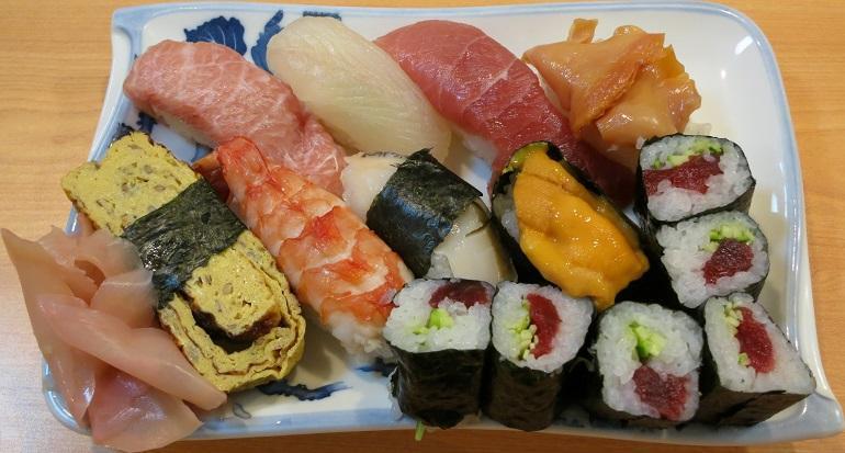安くて旨い寿司