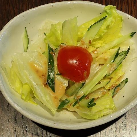 サラダ(寿々屋)
