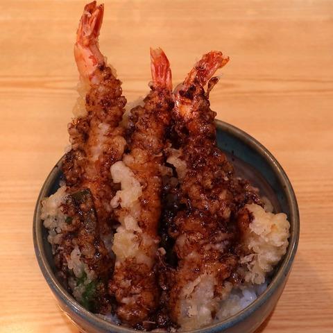 海老天丼(ささはら)1100