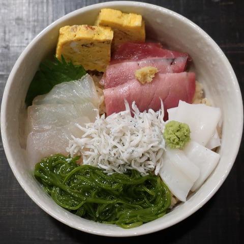 海鮮ちらし(くろ川)950