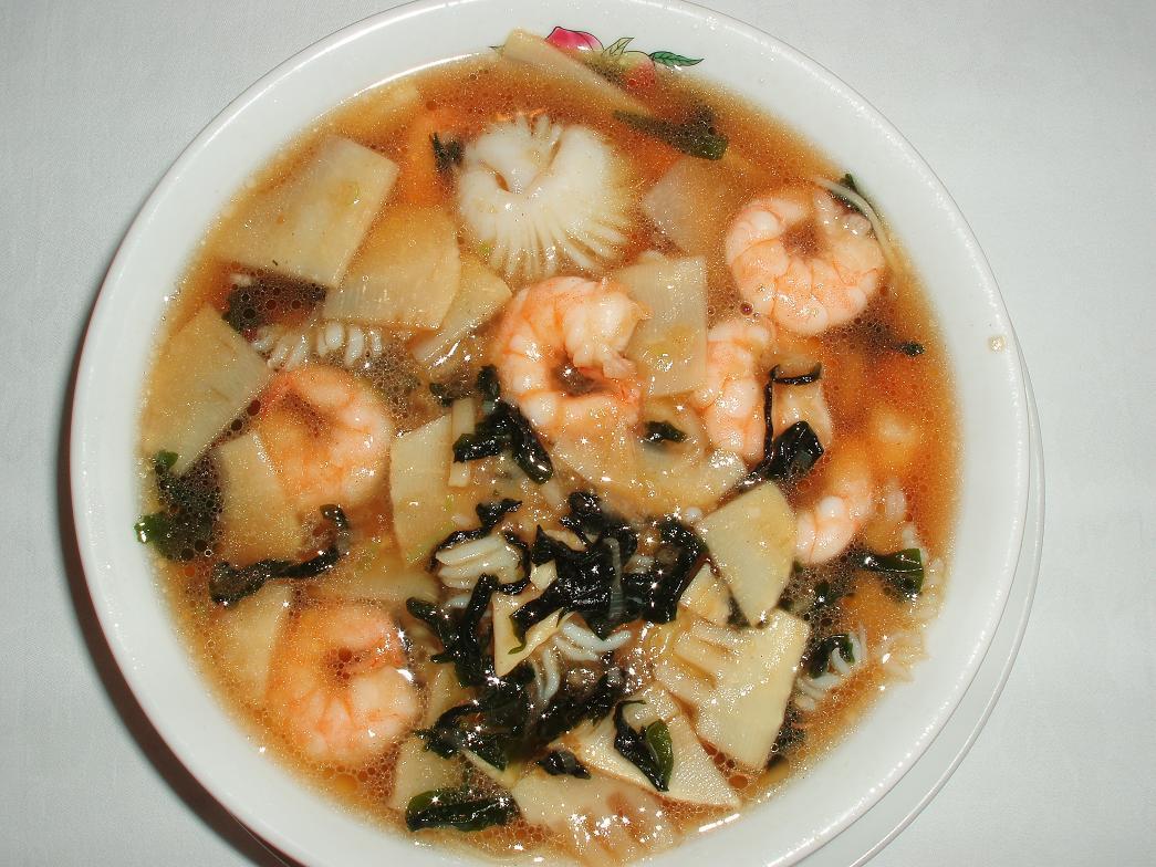 香港園湯麺