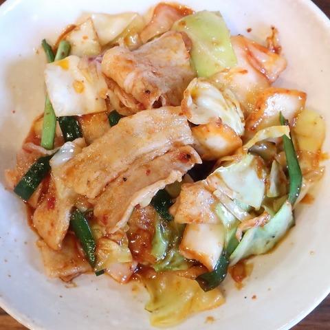 豚キムチ炒め(榮)