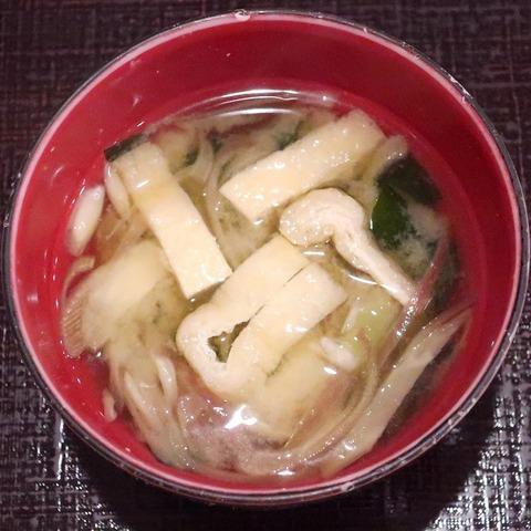味噌汁(まつや)