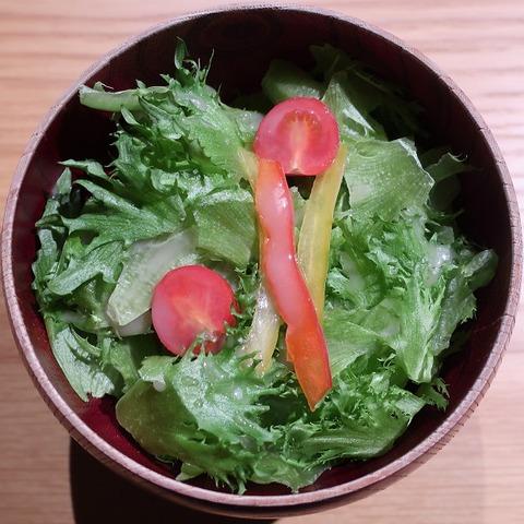 グリーンサラダ(雨庵)