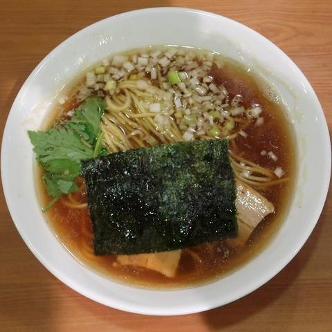 煮干し中華そば並(桜坂)700