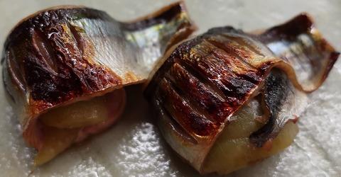 秋刀魚と茄子(天乃川)
