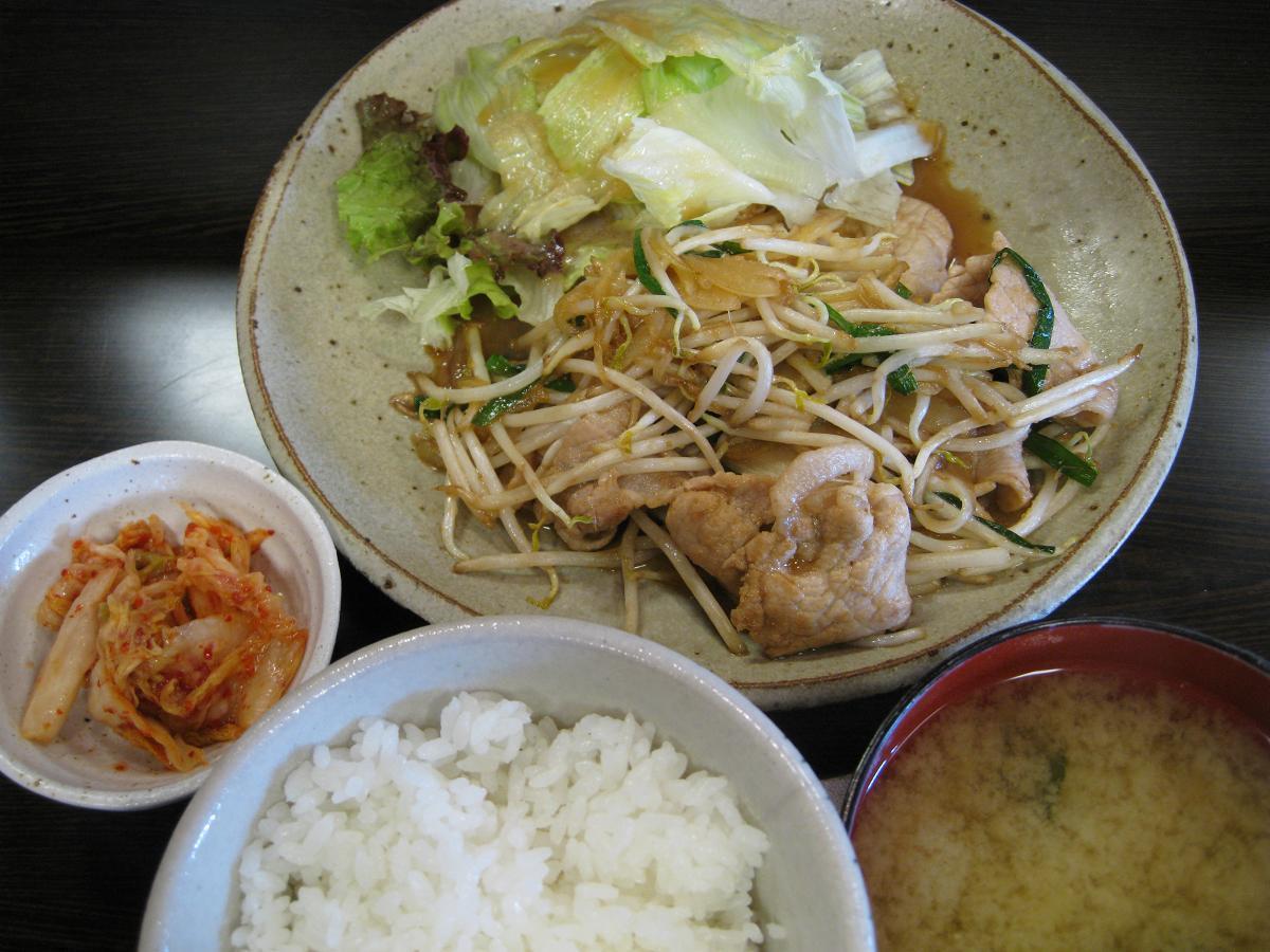 黒豚ロース生姜焼ランチ
