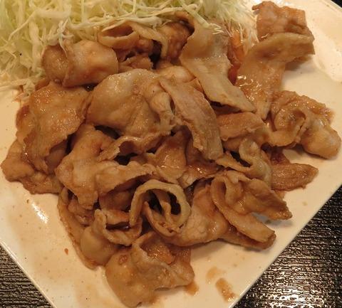 生姜焼(肉大盛)