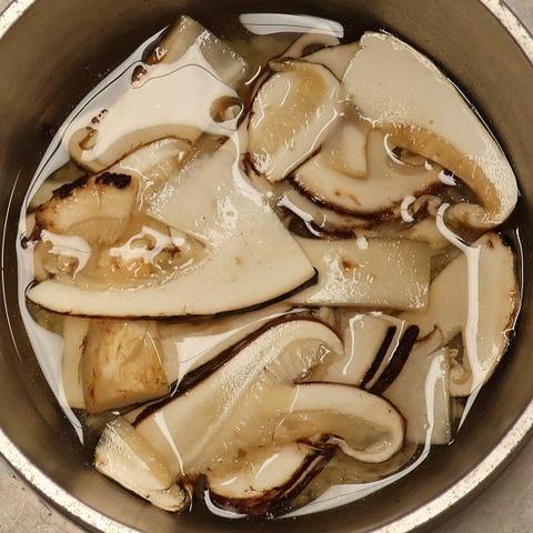 国産松茸釜炊き御飯(上松屋)