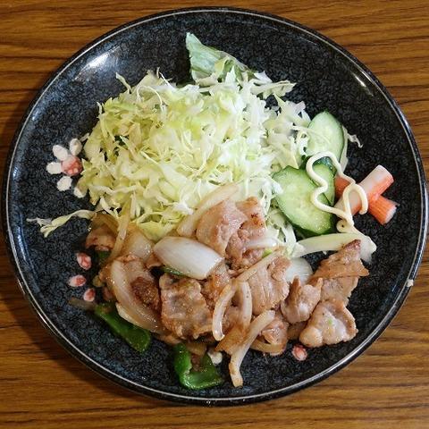 生姜焼定食(風車)700