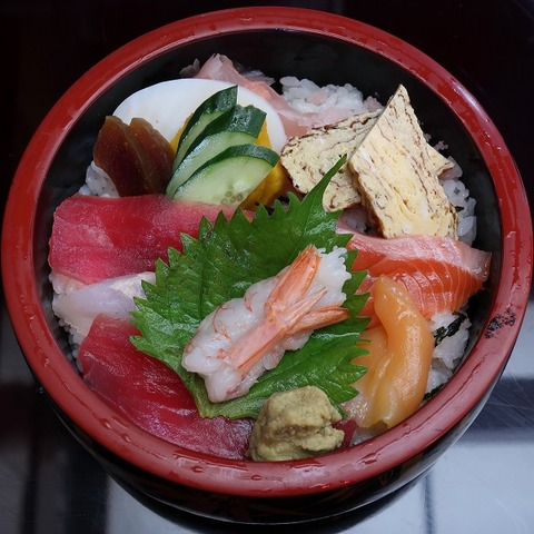 ちらし寿司(はしば)900