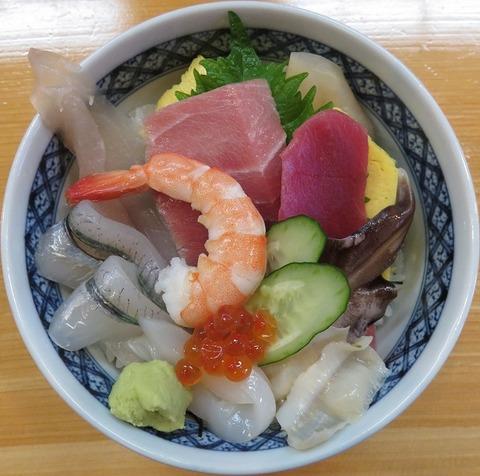 海鮮丼(ひの寿司)1080