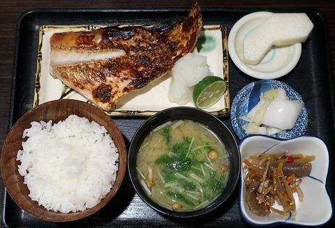 あこう鯛粕漬定食(椿)800