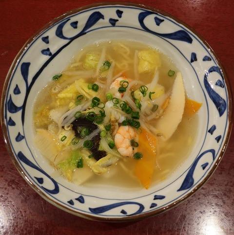 塩野菜ラーメン(麻布茶房)1100