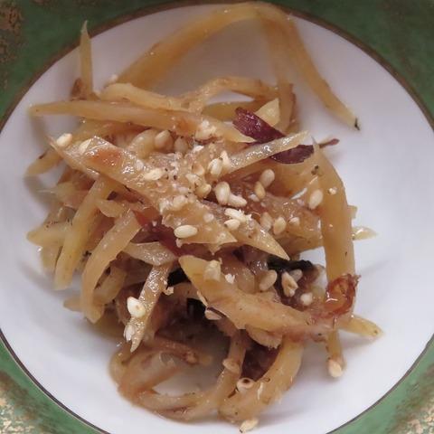 生姜の土佐煮(天乃川)