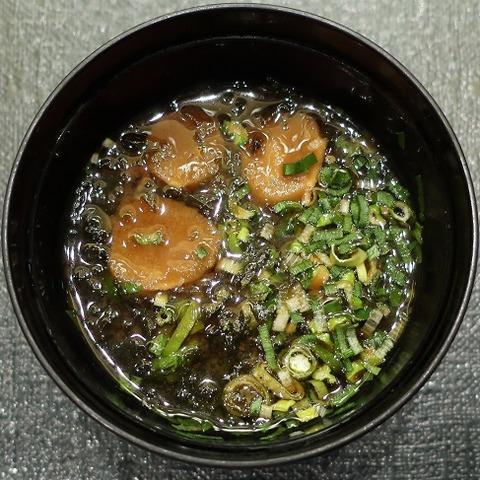 味噌汁(たん熊)