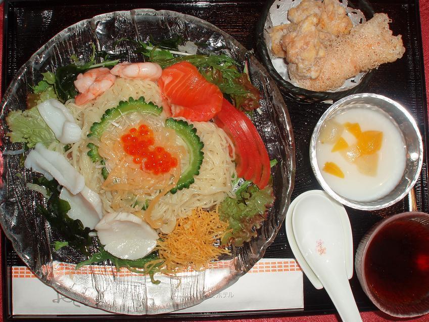 海鮮冷麺セット