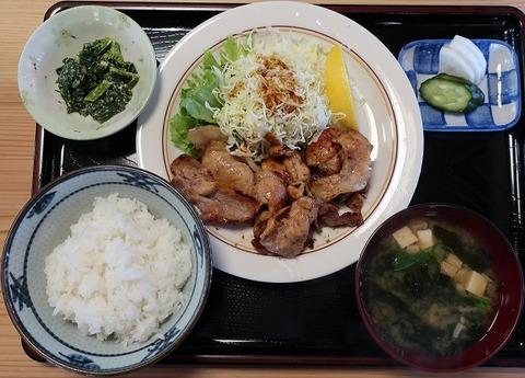 焼肉定食(山びこ食堂)950