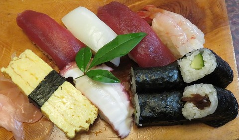 並寿司(吾妻寿司)1200