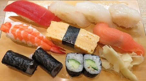 にぎり寿司(奴)1030