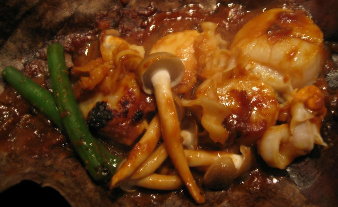 海鮮朴葉焼き